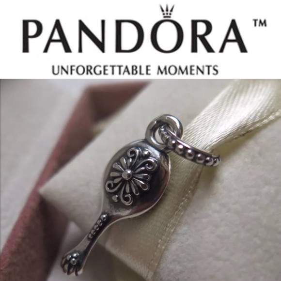 43010870b Pandora Jewelry | 791223en44 Retired Vanity Mirror Charm | Poshmark